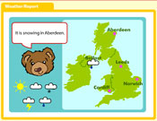 Barnaby Bear - Weather Report