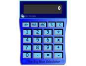 Big Blue Calculator