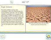 Drought - Read Alone Information Book
