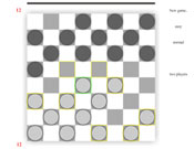 Checkers / Draughts Game