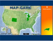 US Map Game