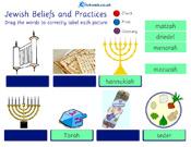 Jewish Beliefs - Matching