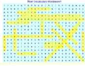 Rivers Wordsearch