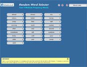 Word Selector
